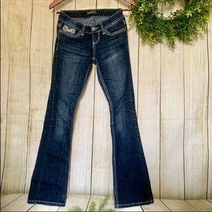 Premier Denim . Dark denim Jeans. Size 0